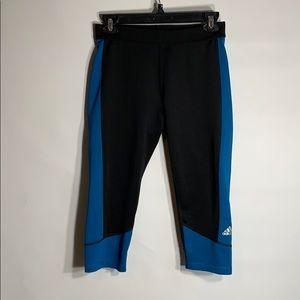 Adidas sport leggings active bottom training Capri